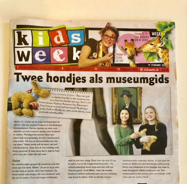 In de Kidsweek! Ape- eh.. hondetrots zijn we!