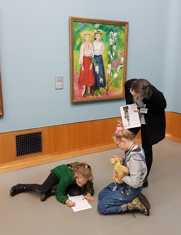Ontwerpsessie met het Kinderbestuur in het Boijmans Van Beuningen.
