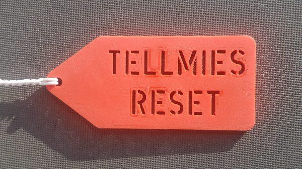 NIEUW in het assortiment! De Tellmie reset-plug. Voor de bijzondere gevallen waar een Tellmie niet meer luistert naar zijn baasje.