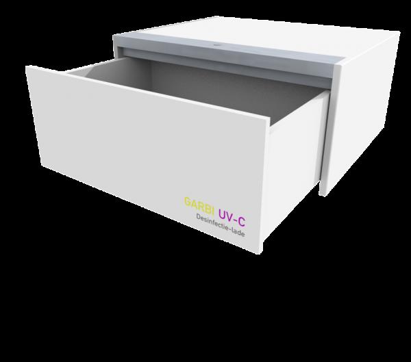 Wat te doen met Tellmies die van hand tot hand gaan in tijden van COVID-19? We ontwikkelden een handige desinfectiemethode daarvoor: de GARBI UV-C Desinfectielade.