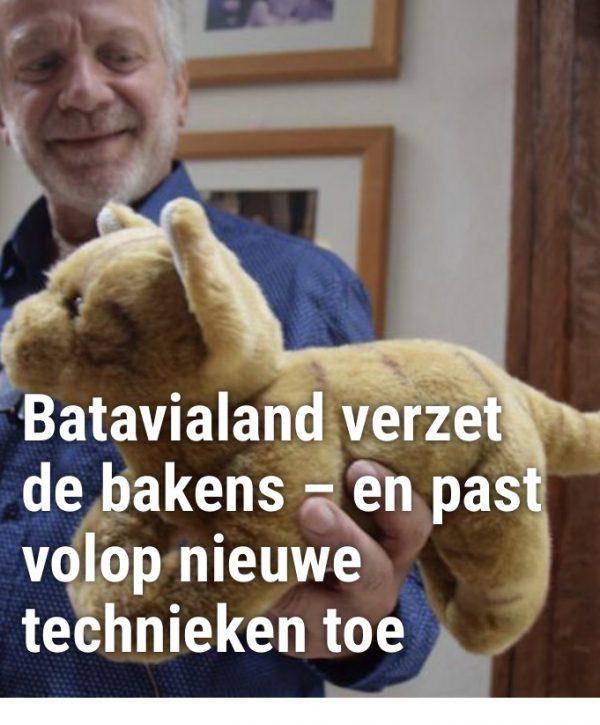 Wat een te gek artikel op Pretwerk.nl over de scheepskatten in Batavialand!