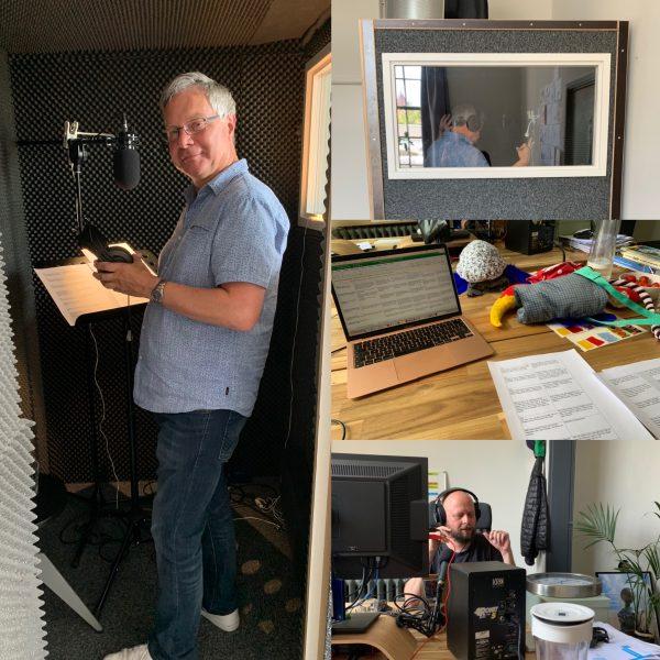 De stem van de 'Spullevaer' (Flipje & Streekmuseum Tiel) is opgenomen met Roland van den Bergh 👍